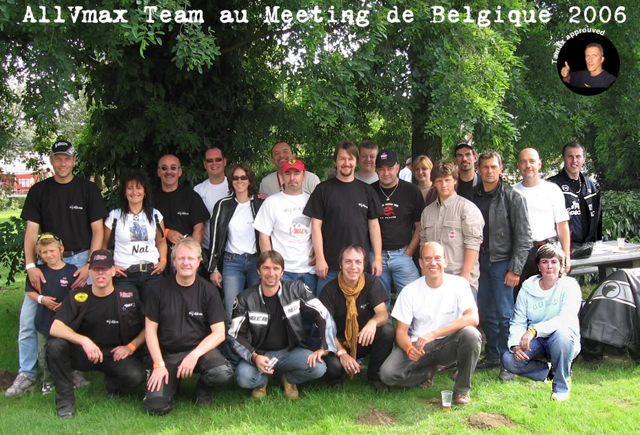 mt_lightbox:la AllVmax Team en Belgique